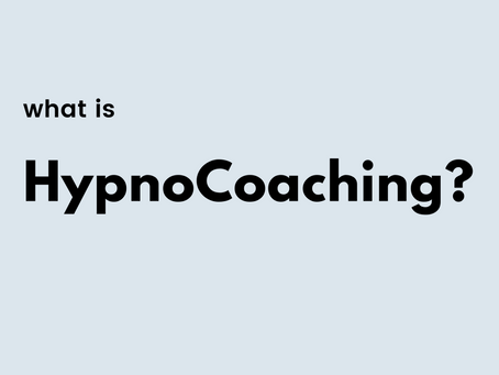 HypnoCoaching: life coaching the conscious and subconscious