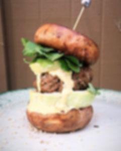 HealthDoll.Co | Organic Mushroom Bun Burger