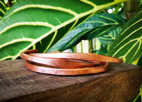 grounded • copper cuffs