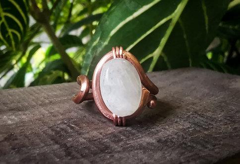 moonstone ring • size 9.5