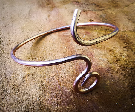 journey • copper arm cuff