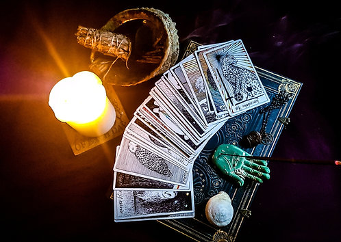 3 card tarot reading + oracle card