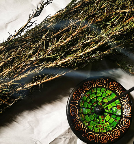 rosemary smudge wands