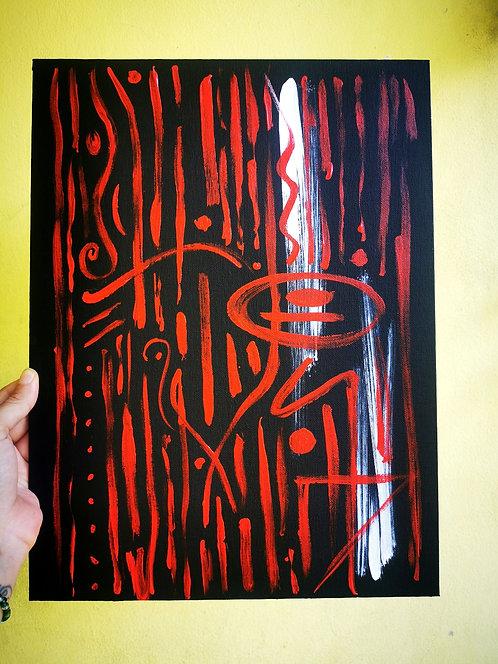 abstract feelings series