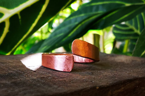 self acceptance || as above, so below • copper ring