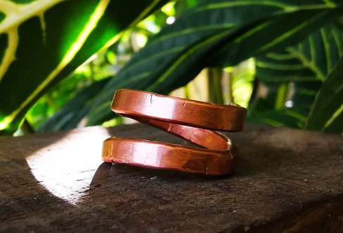 self acceptance || expansion • copper ring