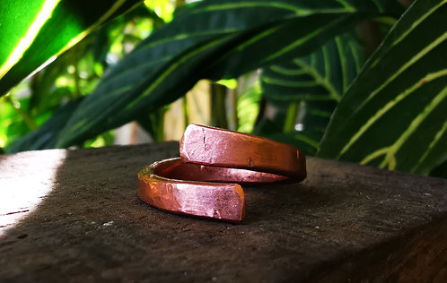 self acceptance    open • copper ring
