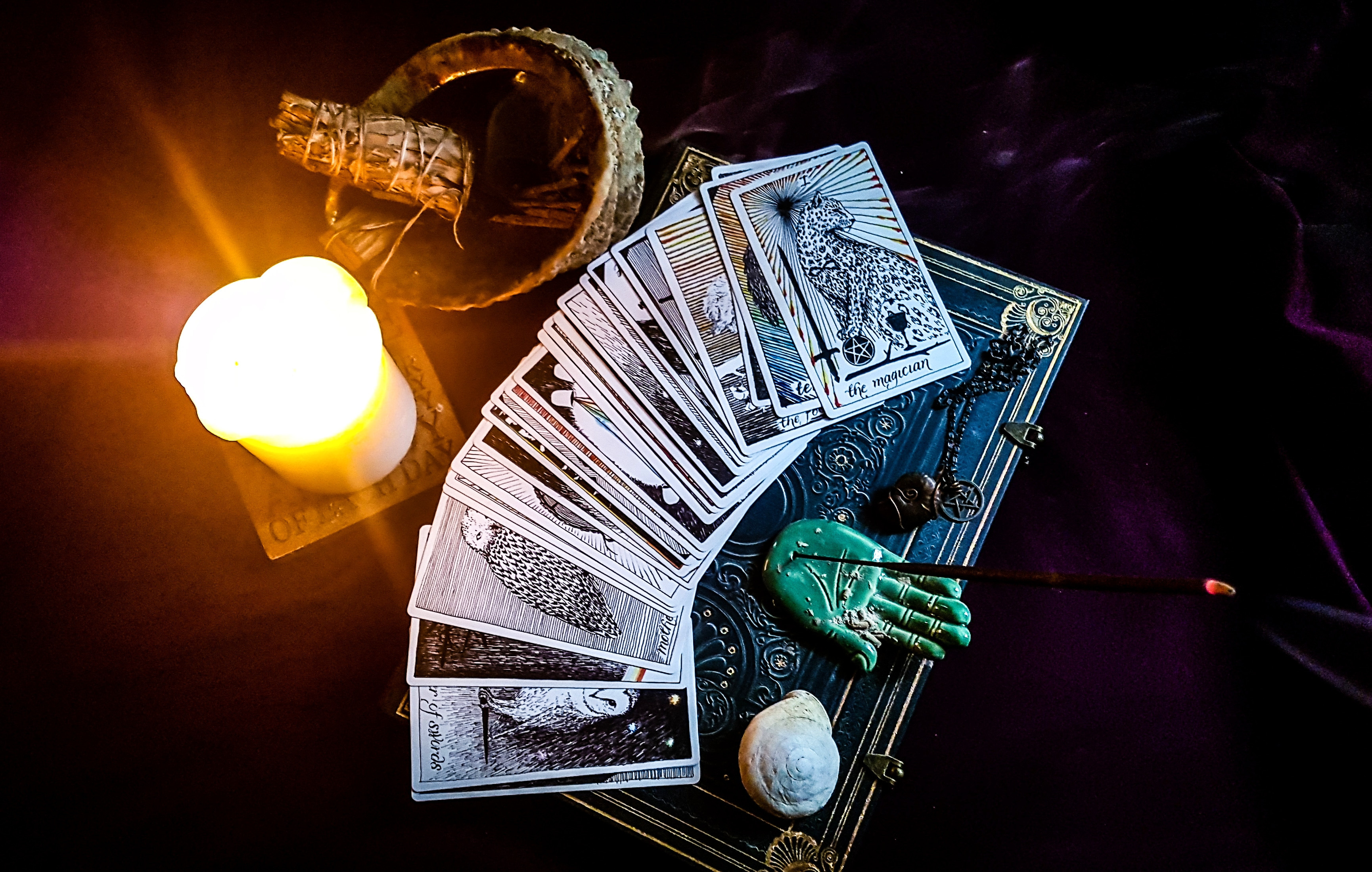 tarot reading + oracle card