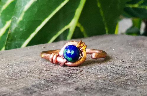 third eye mini rings •copper