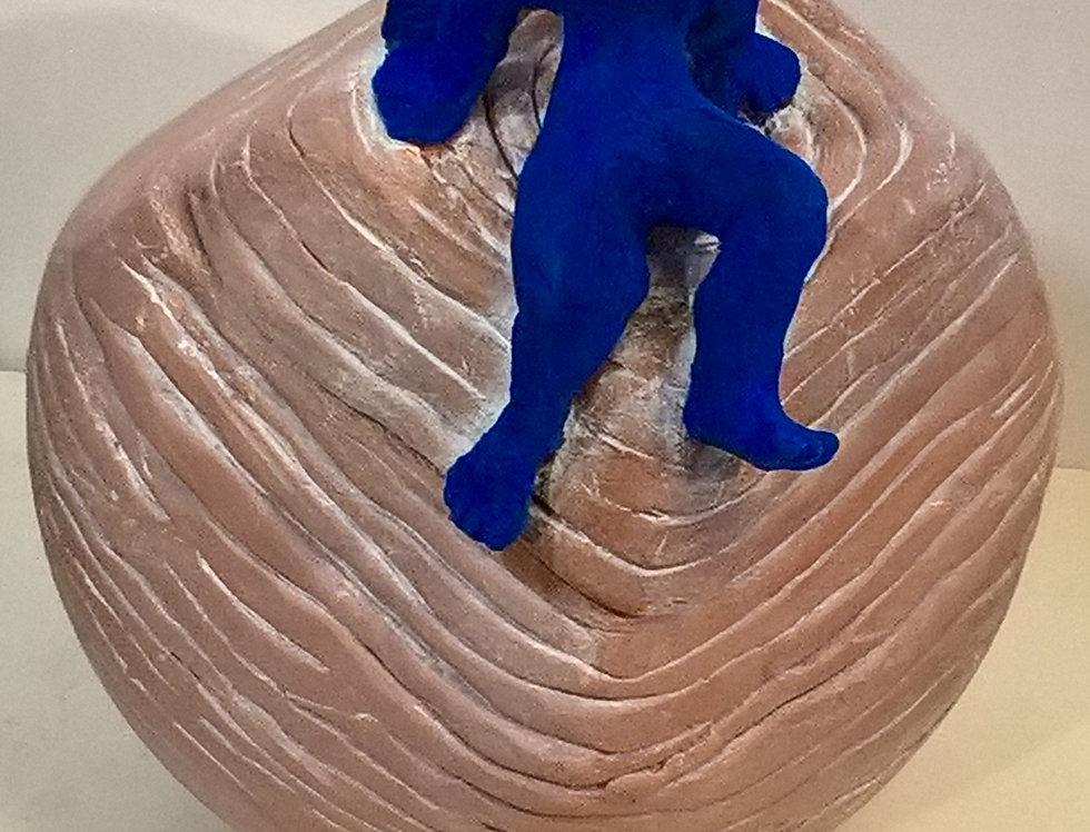 Boîte ange bleu - Sophie Marty Huguenin