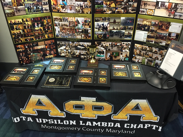 2015 Chapter of the Year Competition Display
