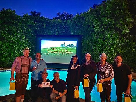 14' Premium Backyard Movie Theater