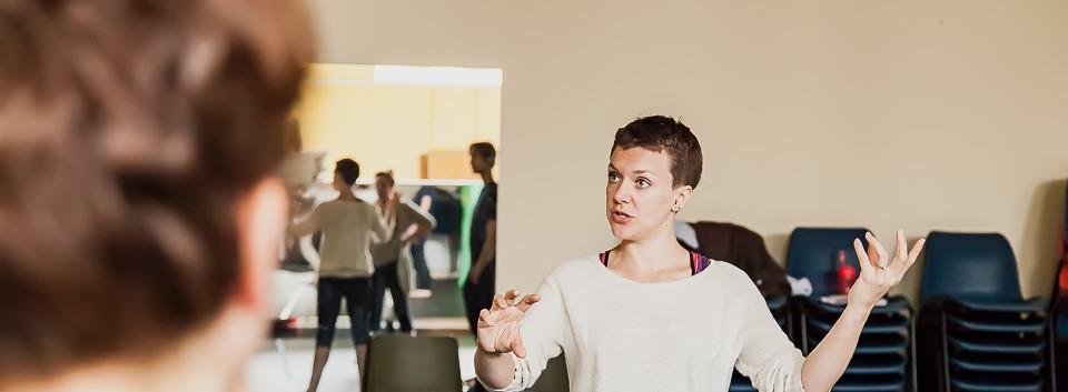 Becoming Berenice Rehearsal