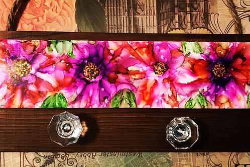 The Wildflower Series: Pain Blooms Pallet Plank
