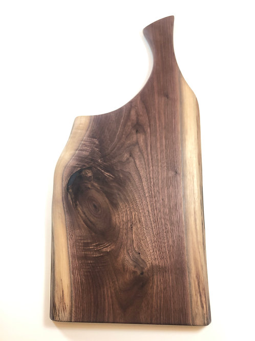 Canadian Black Walnut Charcuterie Board with Handle