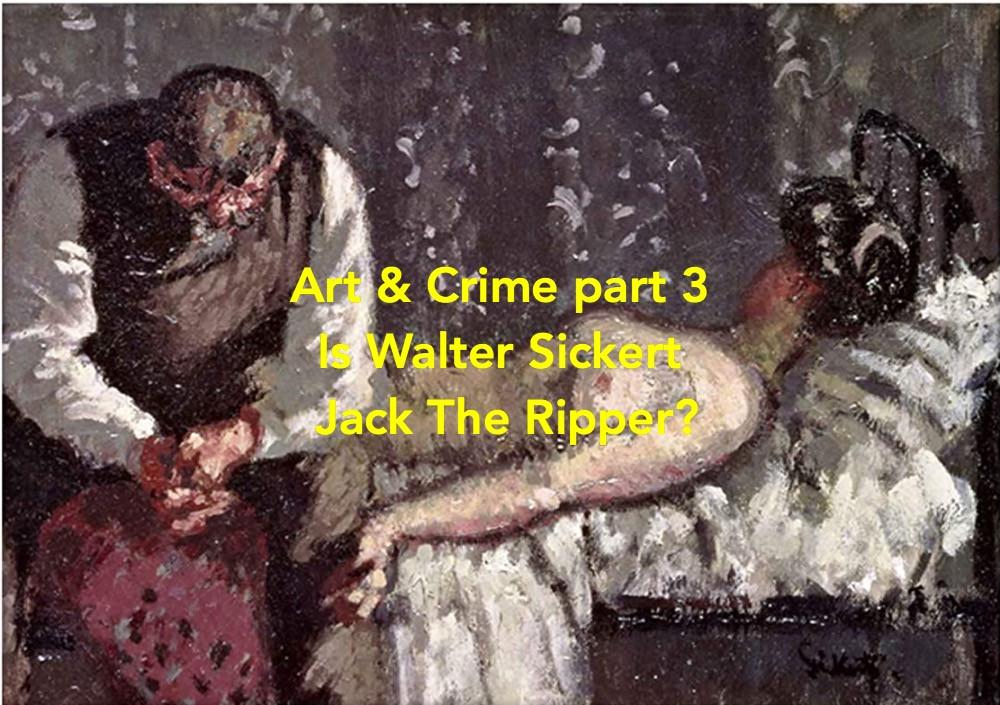 art expert Walter Sickert
