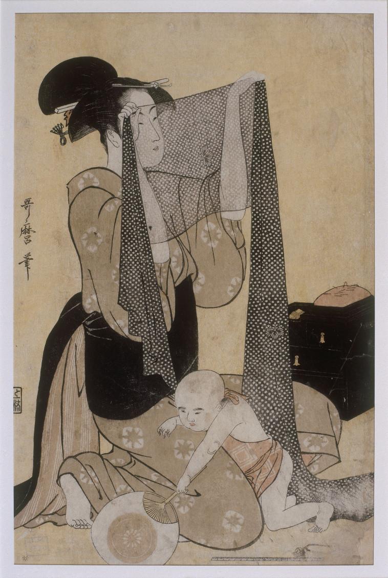 Art expert Japanese prints