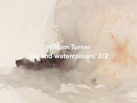 Paintings and watercolors by William Turner, 2/2