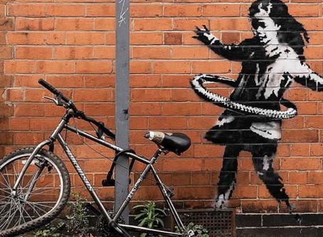 Banksy claims new street art work in Nottingham