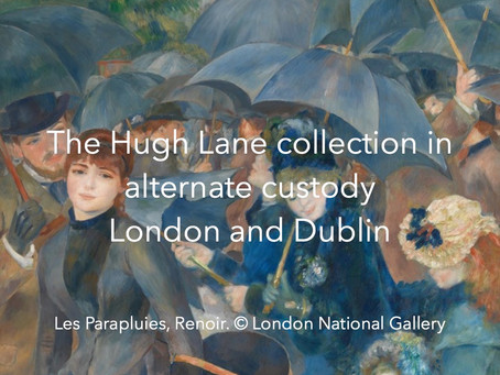 London and Dublin share custody for the Hugh Lane Collection + video