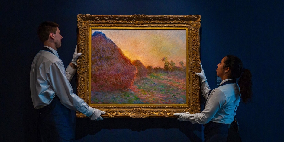 Art authentication Claude monet