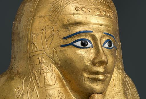 Golden Sarcophagus in MET.