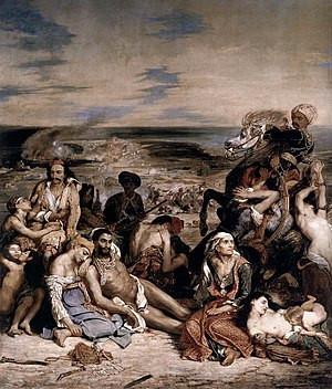 Art expert Eugene Delacroix