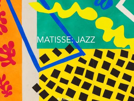 "Matisse's ""Jazz"" in painting"