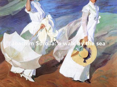 Joachim Sorolla, walk by the sea 1909, explained