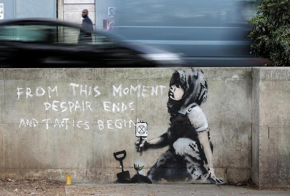 art authentication Banksy