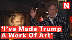 Donald Trump, seen with the eyes of Andres Serrano! Sarcasm with video.