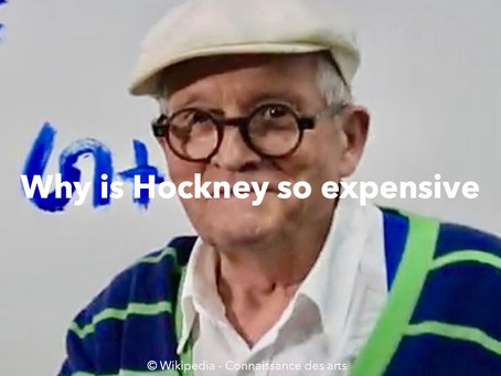 Why D. Hockney is so expensive