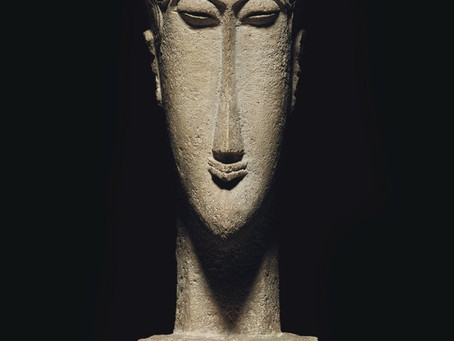 """Tete"" by Modigliani to be sold in NY , estimated $ 40 Million $"