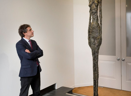 Another 100 M Giacometti? Auction price will remain secret.