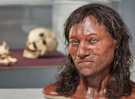 10,000 years ago, British were black!