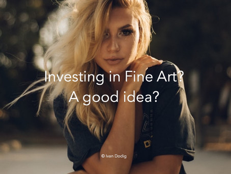 Is it a good idea to invest in fine art?