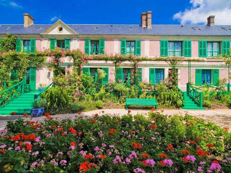Virtually visit Monet's house in Giverny
