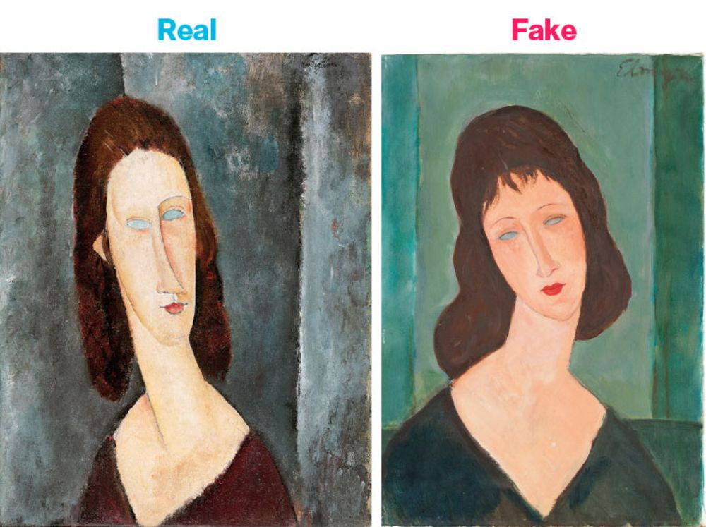 art authentication Modigliani, art expert Modigliani