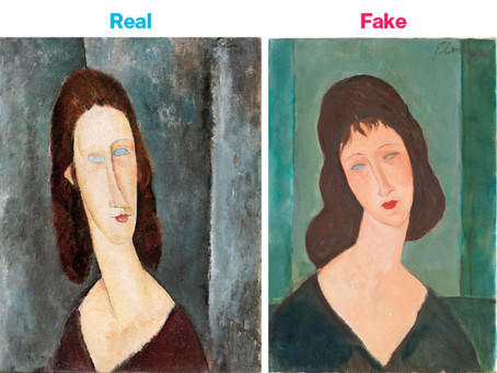 "What is ""really"" an art authentication"
