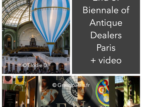 End of the Antique Biennale Paris!