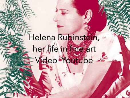 Helena Rubinstein and her life with art