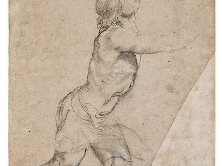 A drawing by Flemish master Rubens was sold  today  1/31/2019 for $ 8.2 million in auctions in NY.
