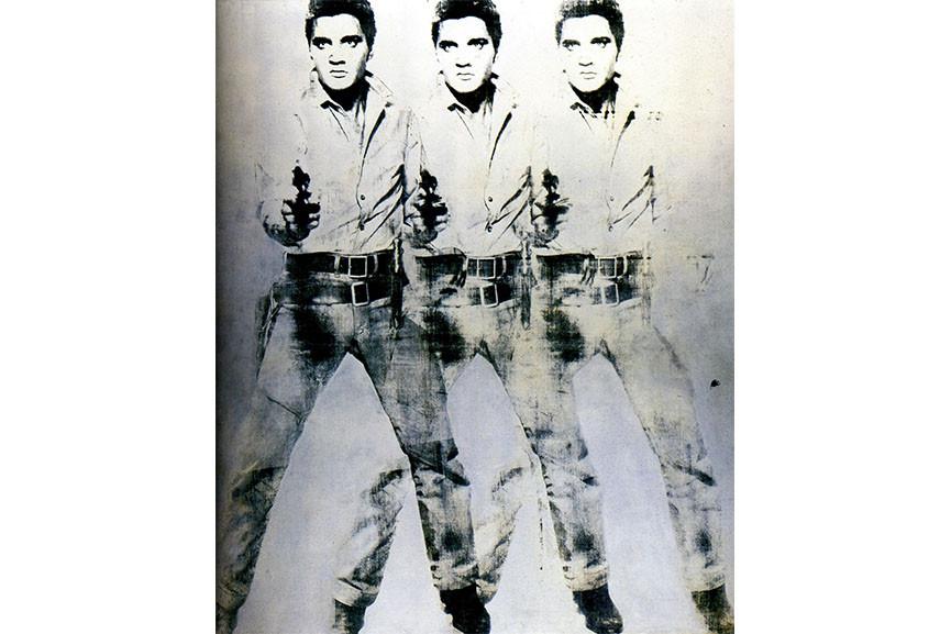 art expert Andy Warhol