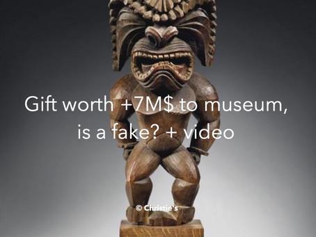Is Ku Ka'ili Moku, a 7M $ gift a fake?