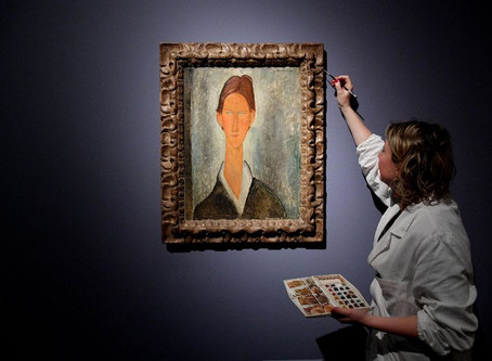 Restellini, Modigliani expert, sues Wildenstein-Plattner Institute