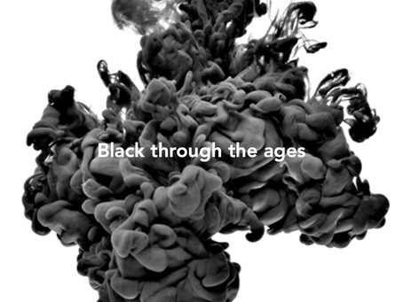 """The color 'Black"""" through the ages"""