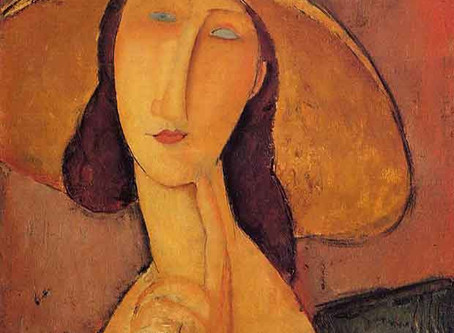 Jeanne Hebuterne, muse of Modigliani, committed suicide 24 hours after his death.