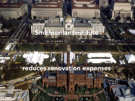 Smithsonian Institution downgrades ambitious renovation project.