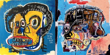 Basquiat copies