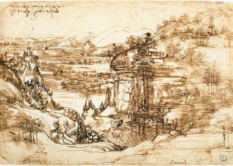 Leonardo da Vinci was ambidextrous is the conclusion of experts from the Uffizi in Florence.